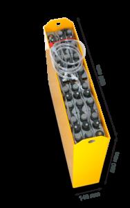 Тяговая аккумуляторная батарея Вентура 24V 160Ah