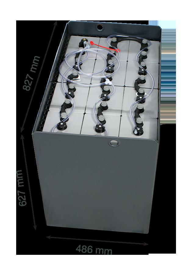 Тяговая батарея EXIDE 24V 800Ah