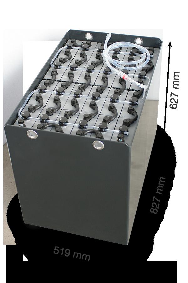 Тяговая аккумуляторная батарея Эксайд 48V 460Ah