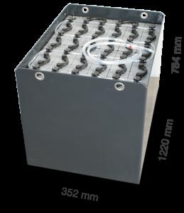 Тяговая батарея TAB  48V 620Ah