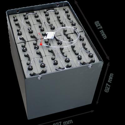 Тяговый аккумулятор EXIDE 48V 625Ah