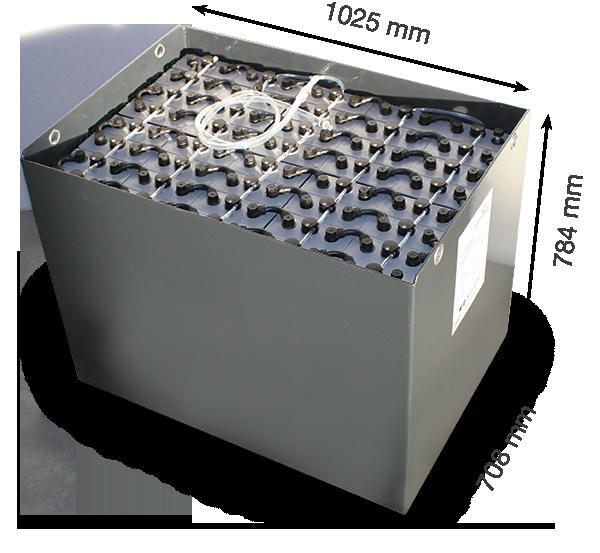 Тяговая аккумуляторная батарея Санлайт 80V 480Ah