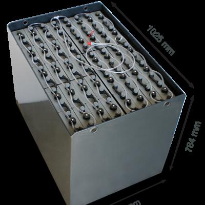 Аккумулятор Эксид 80V 620Ah