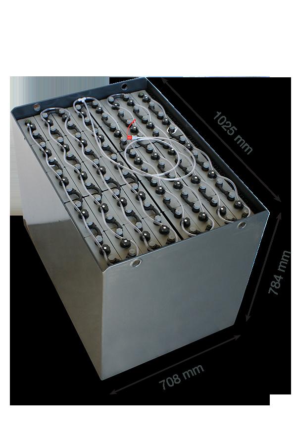 Тяговый аккумулятор EXIDE 80V 620Ah