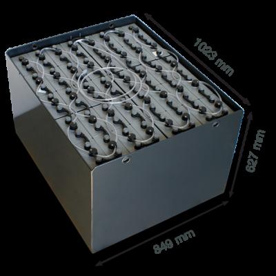 Тяговая аккумуляторная батарея Хавкер 80V 625Ah