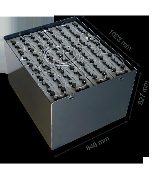 Тяговый аккумулятор Sunlight 80V 500Ah