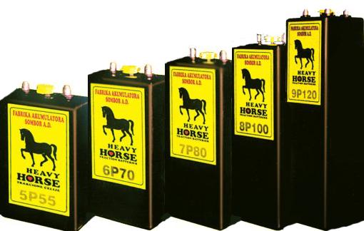 Тяговые аккумуляторы Heavy Horse